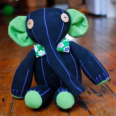 Elliot Elephant Sock Softie
