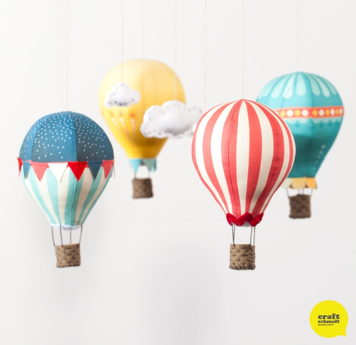 Hot Air Balloon Mobile - Circus