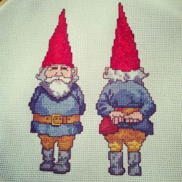 Gnome Cross Stitch