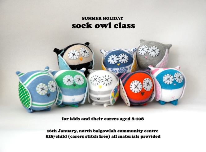 Sock Owl Class