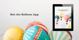 Hot Air Balloon Tutorial App