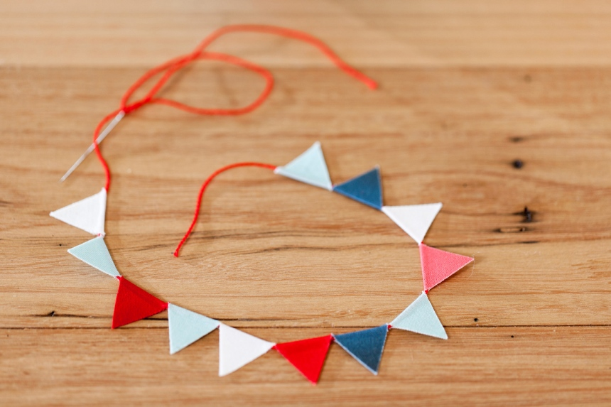 Mini Bunting Tutorial