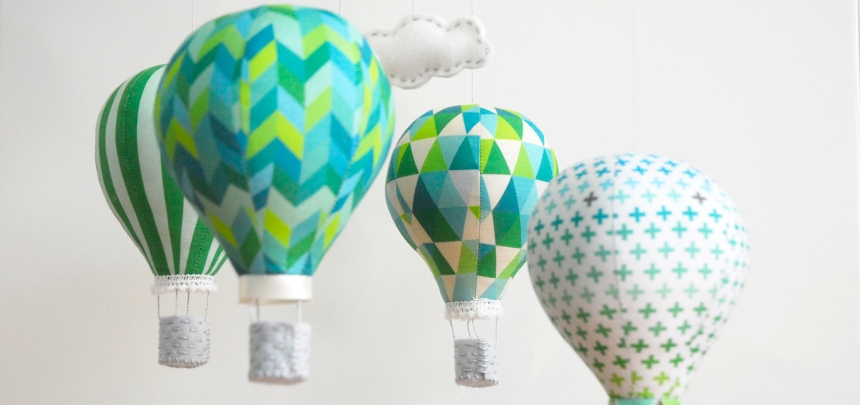 Hot Air Balloon Kit Emerald