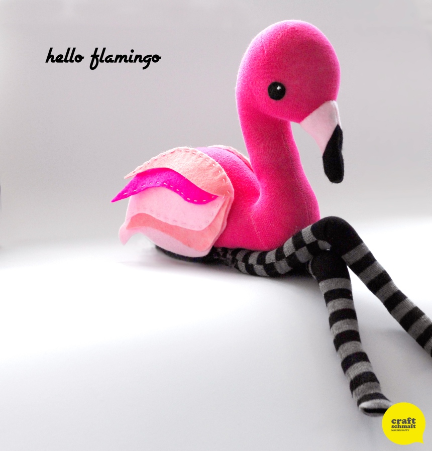 Sock Flamingo