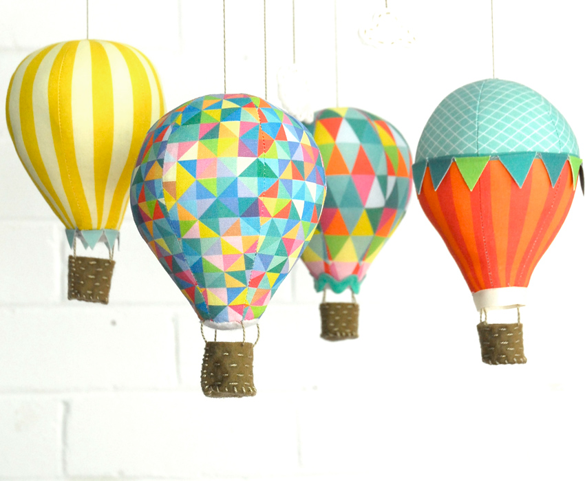 Hot air balloon craft schmaft for Balloon decoration making