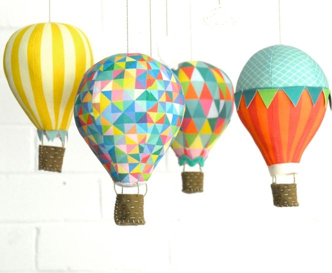 Hot Air Balloon Kit in Carnivale