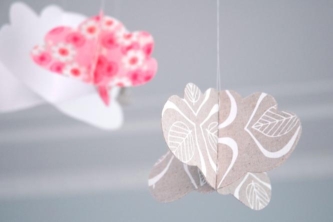 Fabric Cloud Hanging