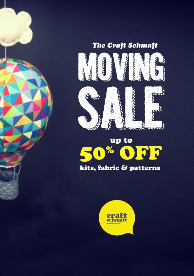 Craft Schmaft Moving Sale