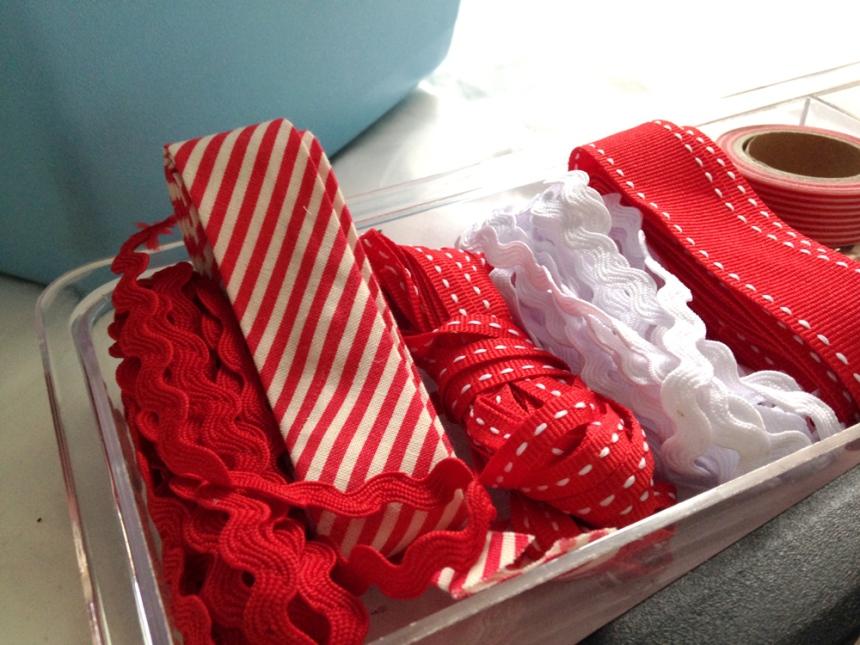 Christmas craft supplies