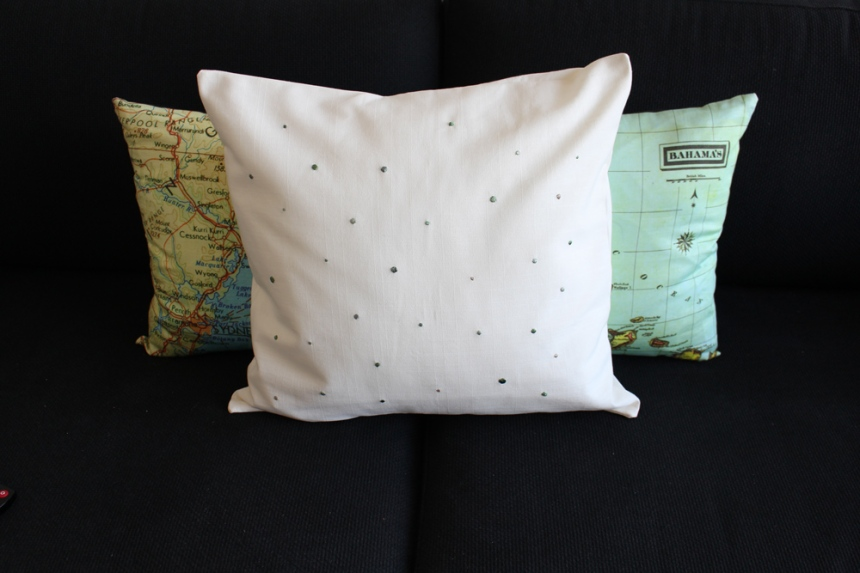Spot and Map Cushions