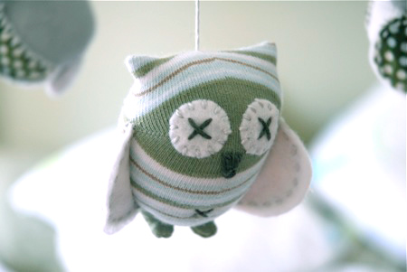 Owl Mobile softie